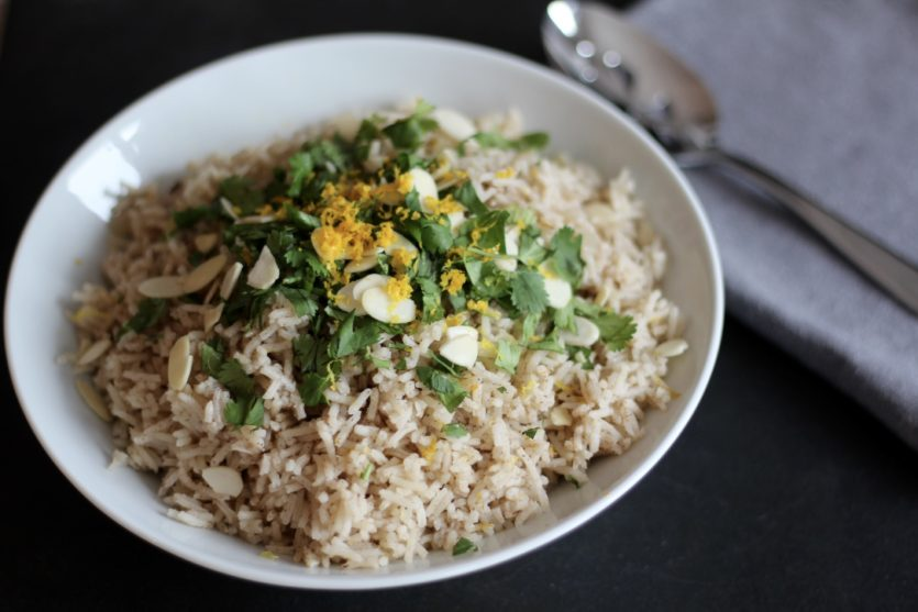 Fragrant Spiced Rice Pilaf
