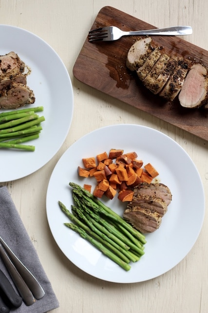 herb crusted pork tenderloin i used fresh herbs on this roast but you ...