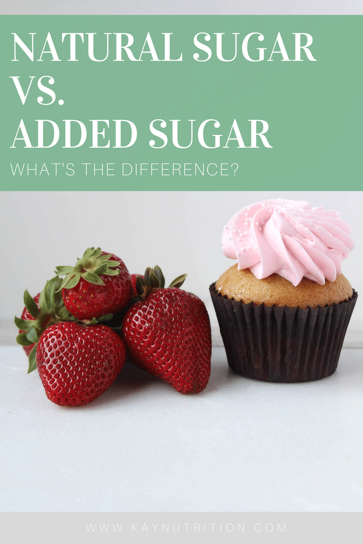 Natural Sugar vs. Added Sugar - What's the difference?