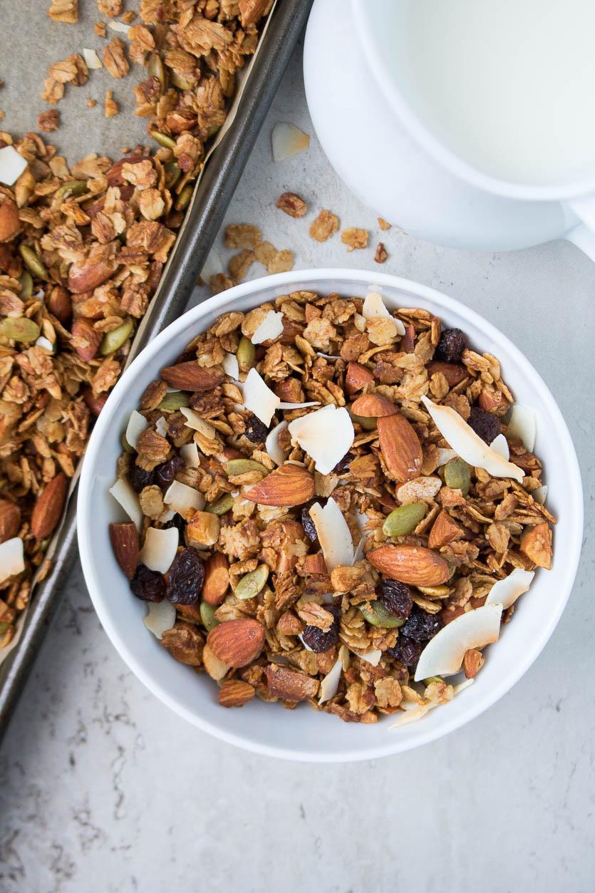 Healthy Homemade Granola Recipe