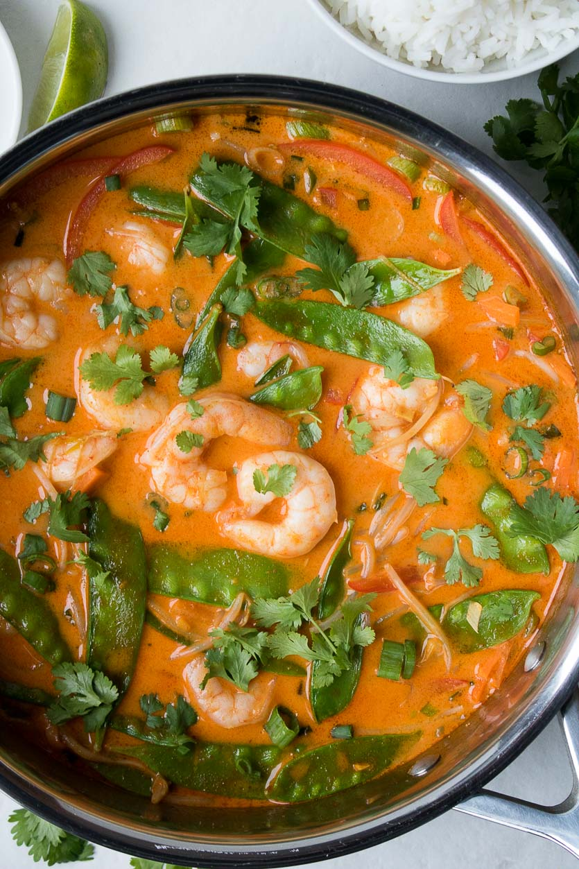 Prawn Coconut Curry