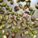 Sea Salt Roasted Brussel Sprouts