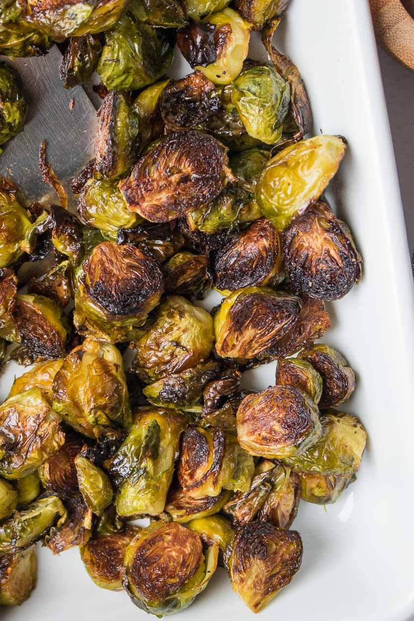 Roasted Brussel Sprouts Crispy