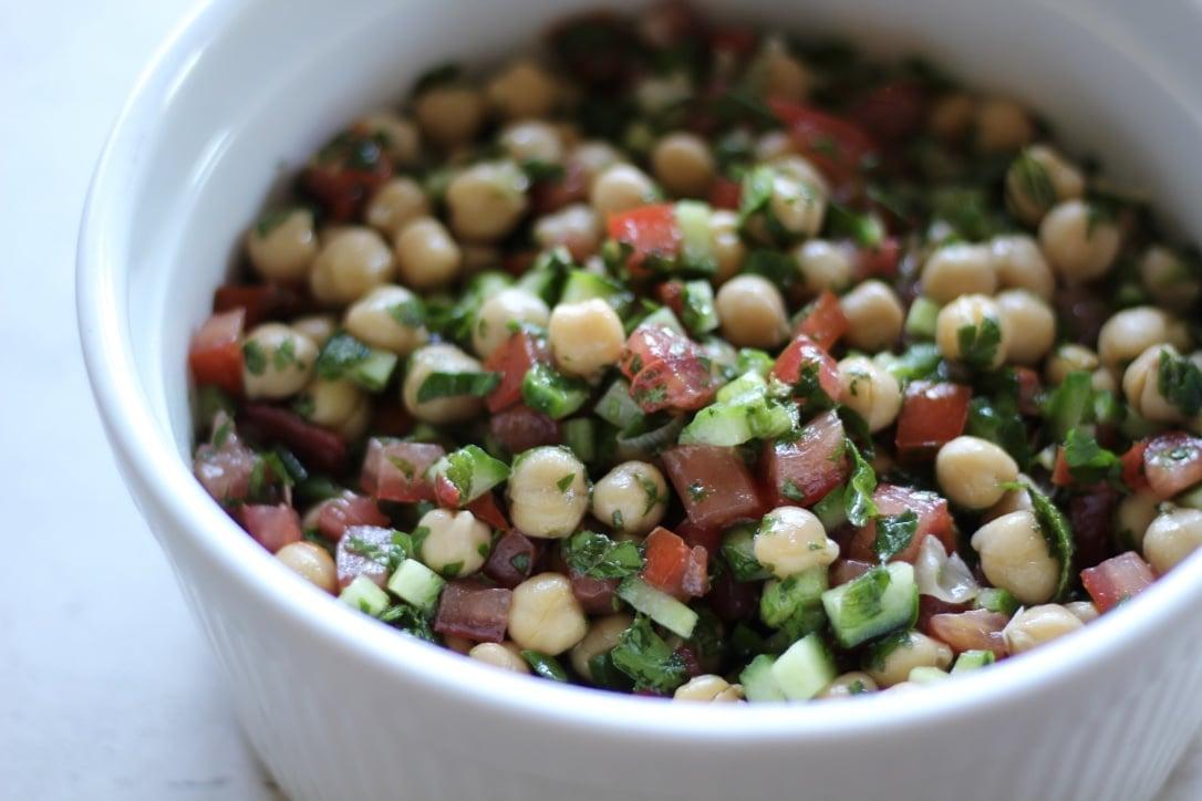Chickpea Tabbouleh Recipe