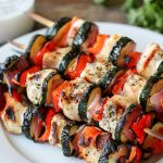 Italian Chicken Brochettes