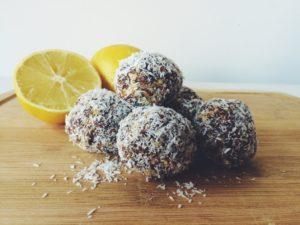 Vanilla Lemon Energy Balls