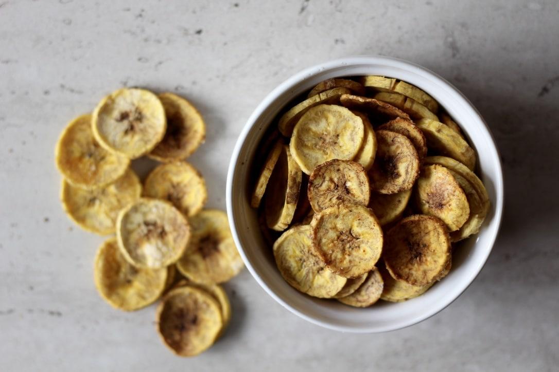 sea salt plantain chips