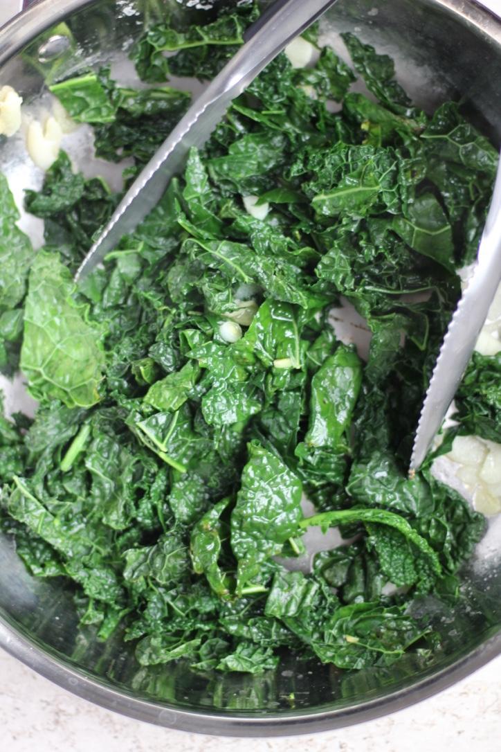 Sautéed Garlic Kale Recipe