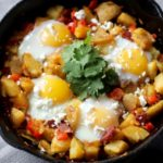 Spicy Potato & Egg Hash