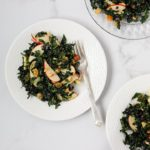 holiday kale slaw