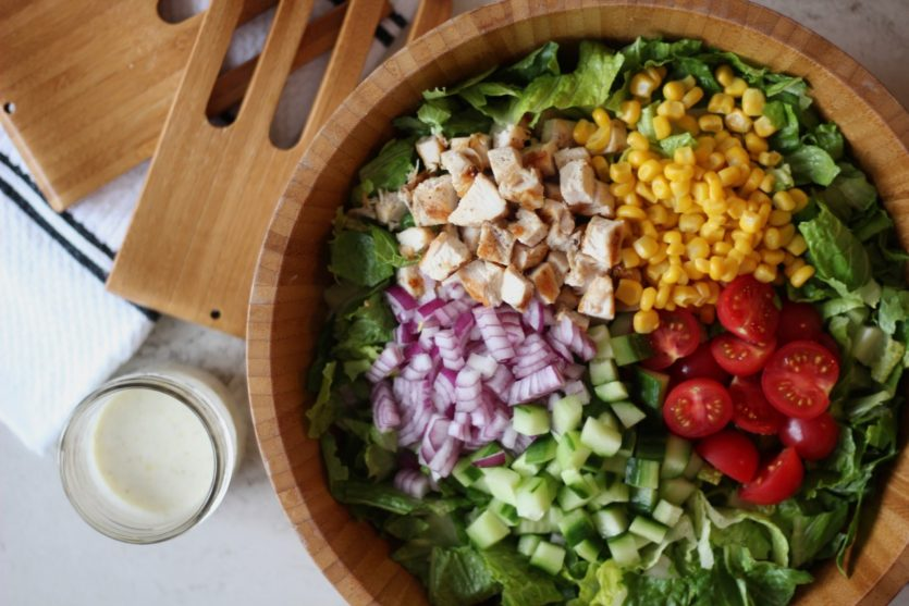 chopped chicken salad