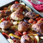 Spanish Chicken Tray Bake
