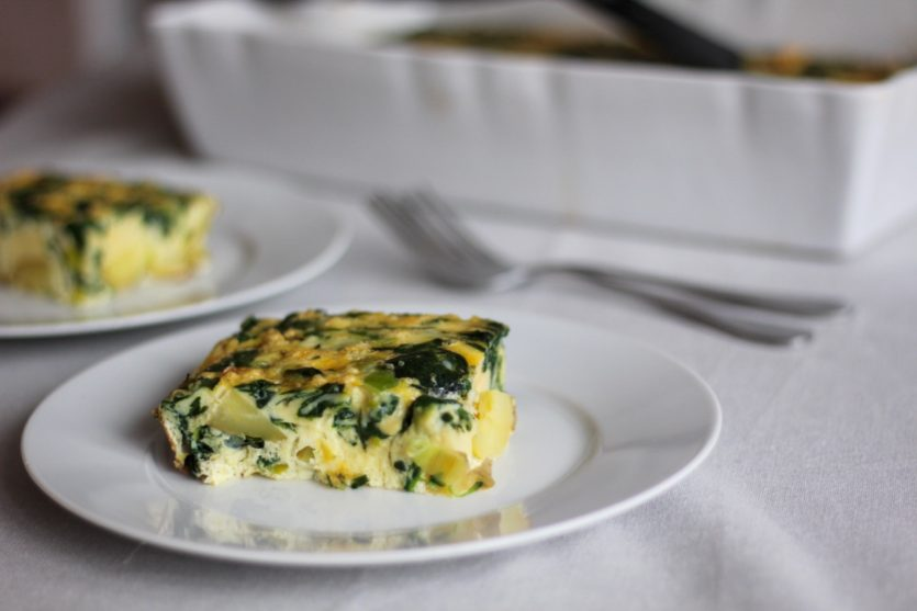 spinach breakfast casserole