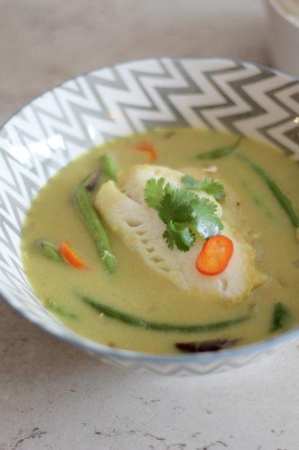 Thai Cod Green Curry