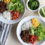 DIY Burrito Bowls