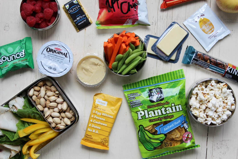 Healthy Travel Snacks