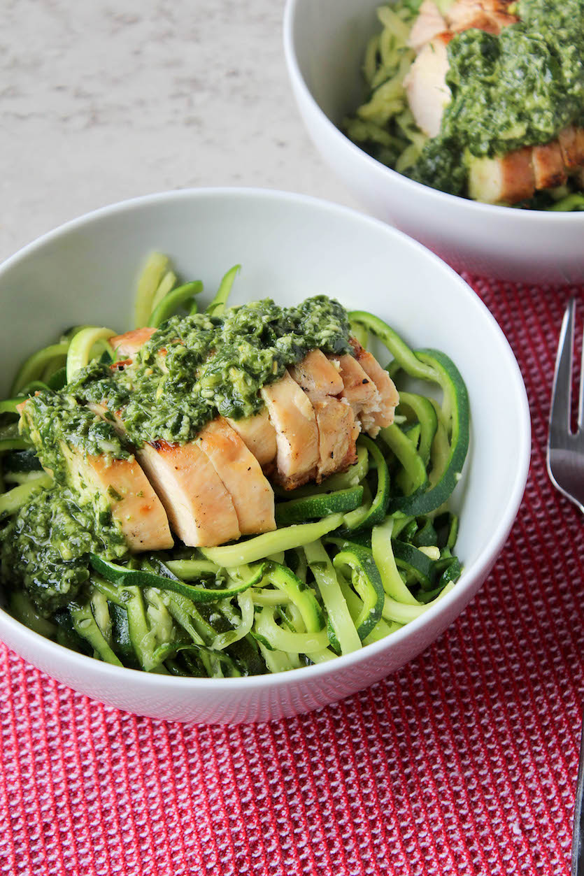 Kale Pesto Grilled Chicken