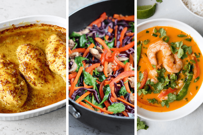 12 Healthy 30-Minute Meals