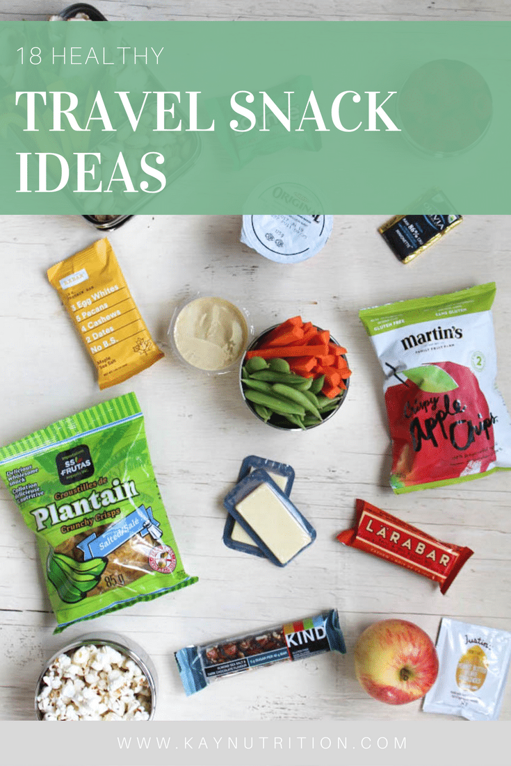 18 Healthy Travel Snack Ideas
