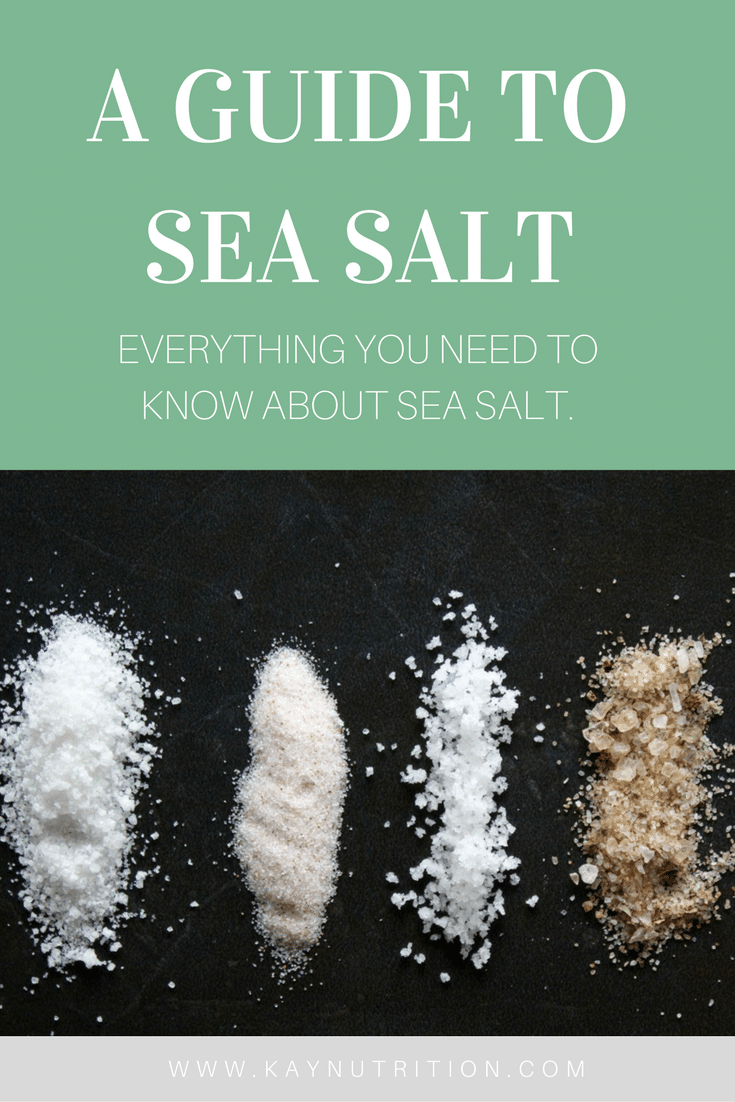 A Guide to Sea Salt