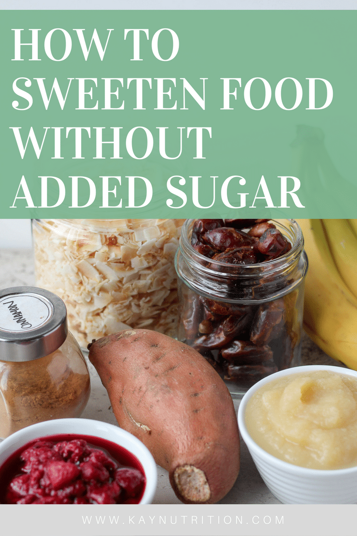 How to Sweeten Food Without Sugar