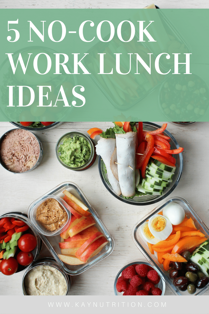 No-Cook Work Lunch Ideas 5