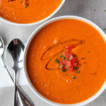 Roasted Tomato and White Bean Soup