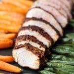 Spice-Rubbed Pork Tenderloin