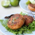 Thai Salmon Fish Cakes