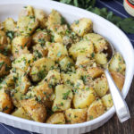 Warm Mixed Herb Potato Salad