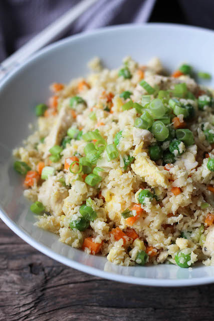 Chicken & Cauliflower Fried Rice