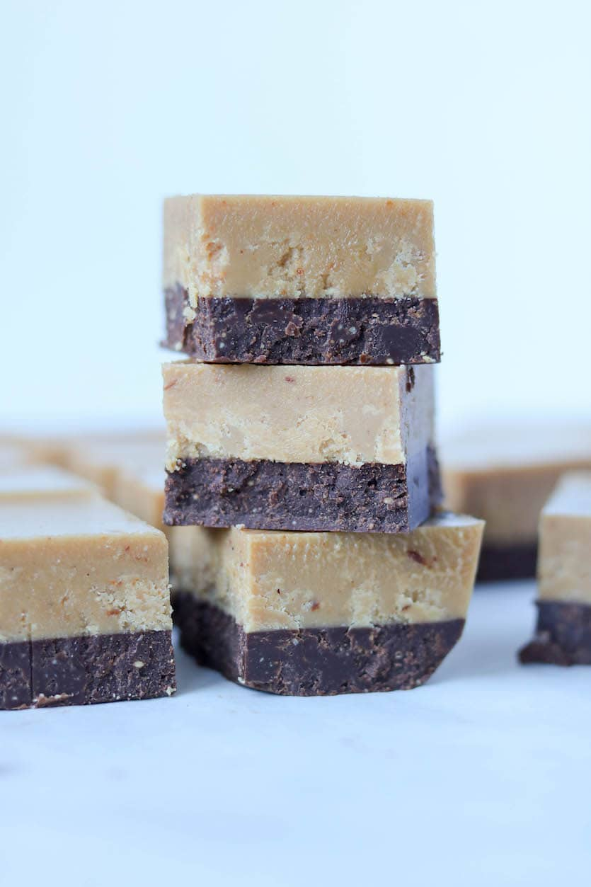 Chocolate Caramel Freezer Fudge