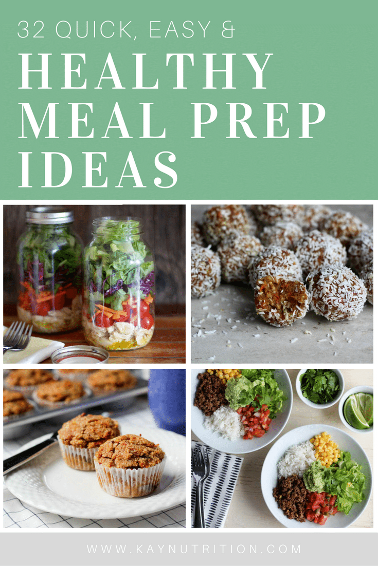 32 Healthy Meal Prep Ideas