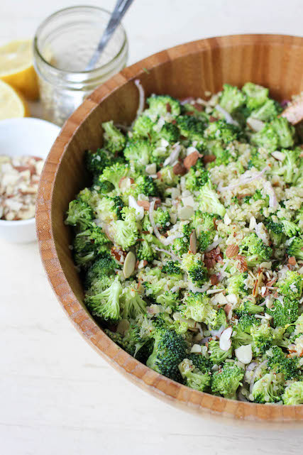 Make-Ahead Broccoli and Quinoa Salad