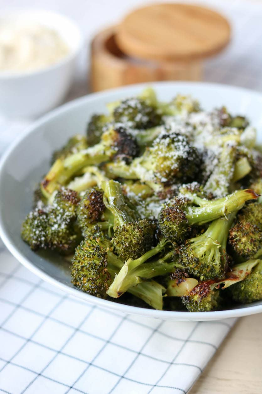 Crispy Roasted Broccoli