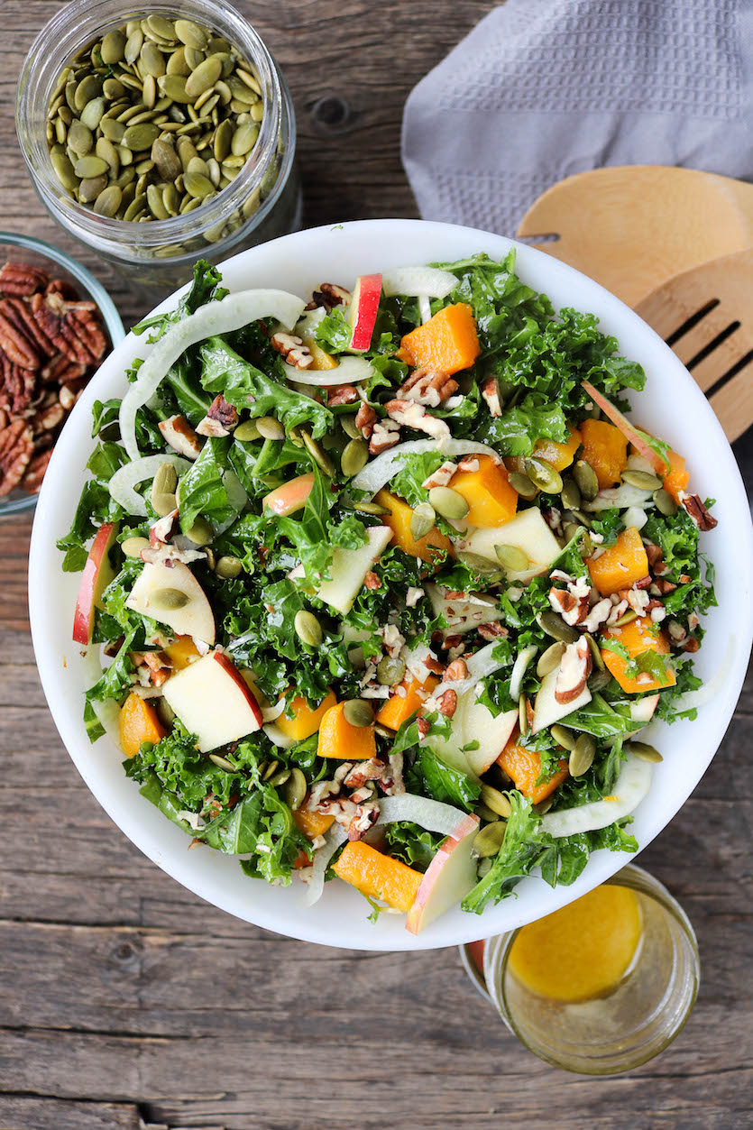 Fall Harvest Salad with Maple Vinaigrette