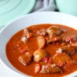 Hungarian Beef Stew (Goulash)