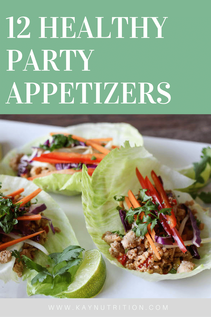 12 Healthy Party Appetizers