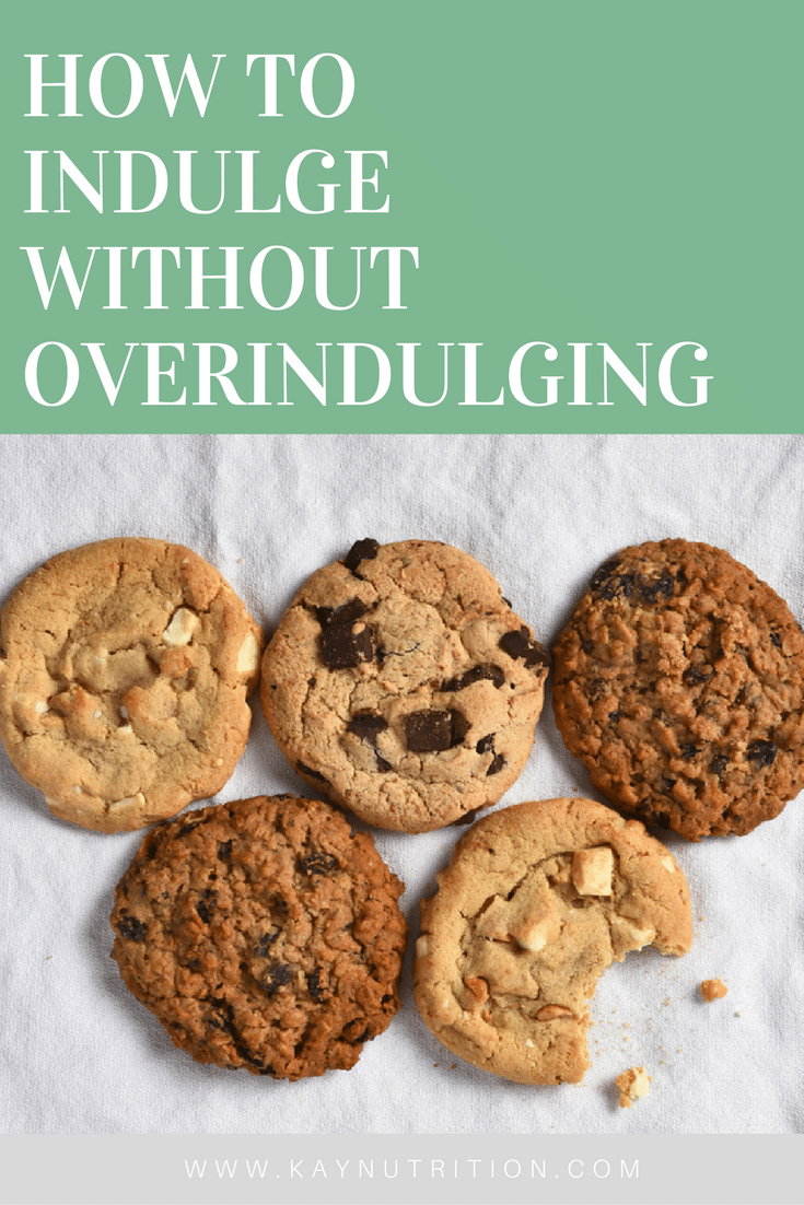 How to Indulge without Overindulging