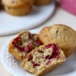 Raspberry Yogurt Muffins