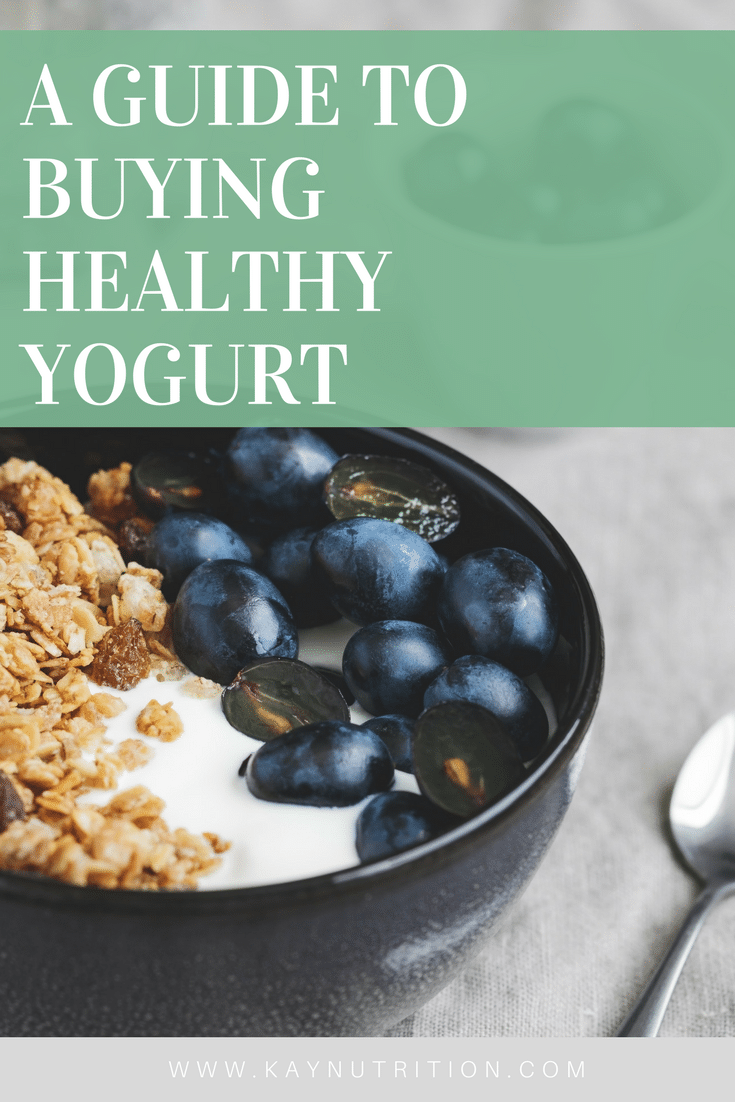 Guide to Buying Healthy Yogurt