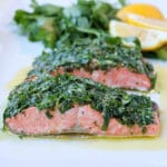 Slow-Roasted Salmon with Herbs