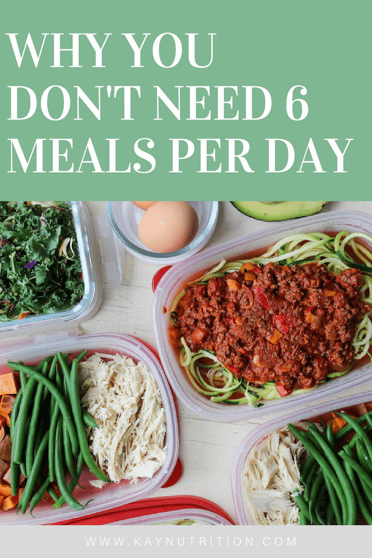 Why You Don't Need 6 Meals per Day