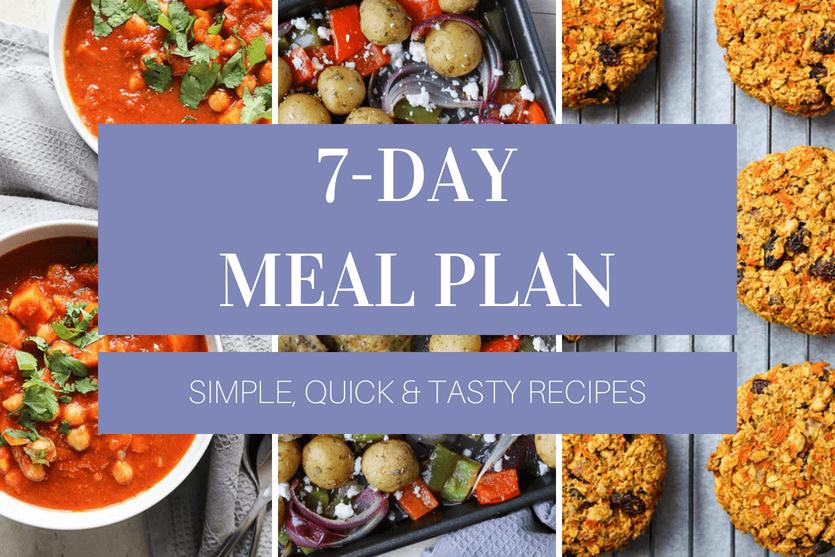 Free 7-Day Meal Plan