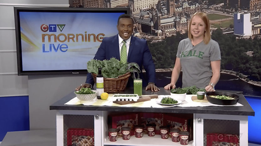 Cooking with Kale - CTV Ottawa Morning Live