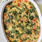 Greek Omelette Casserole
