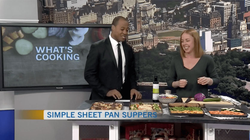 Sheet Pan Suppers - CTV Ottawa Morning Live