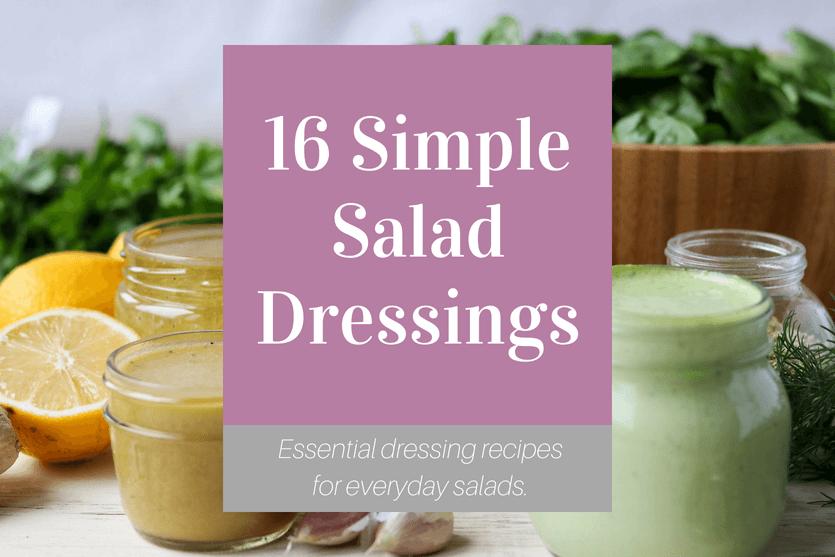 Simple Salad Dressing eBook