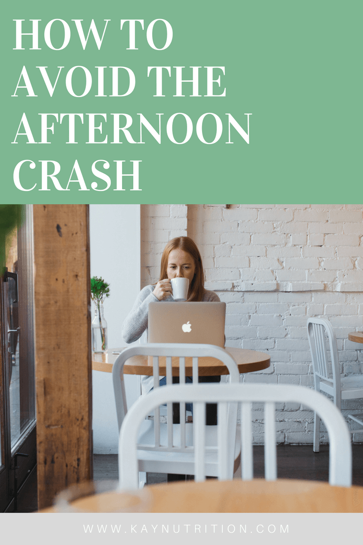 How to Avoid the Afternoon Crash