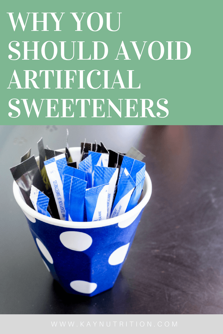 Why You Should Avoid Artificial Sweeteners